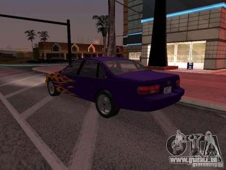 Chevrolet Impala SS 1995 pour GTA San Andreas moteur