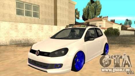 Volkswagen Golf MK6 Hybrid GTI JDM pour GTA San Andreas