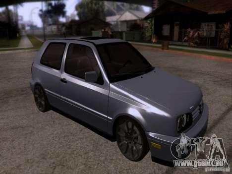 Volkswagen Golf 3 VR6 pour GTA San Andreas