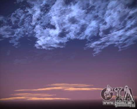 Real Clouds HD für GTA San Andreas elften Screenshot