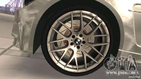 BMW 1M E82 Coupe 2011 V1.0 pour GTA San Andreas vue intérieure