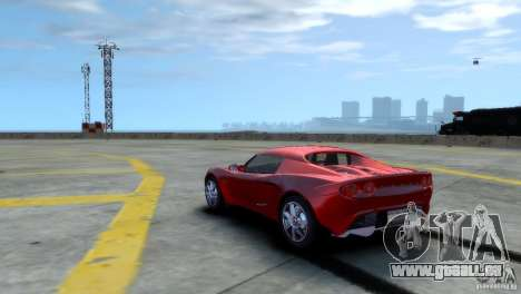 Lotus Elise pour GTA 4 est un droit
