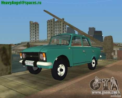 IZH Moskvitch 412 pour GTA Vice City