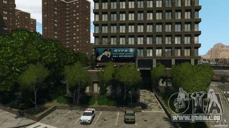 Remake second police station pour GTA 4 secondes d'écran