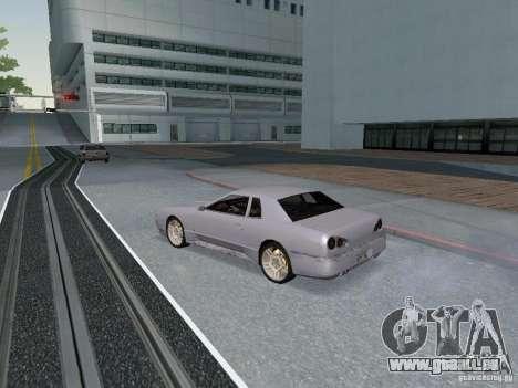 Elegy HD für GTA San Andreas Rückansicht