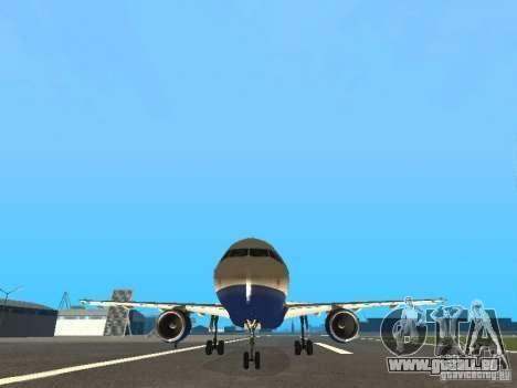 Airbus A320 British Airways für GTA San Andreas Rückansicht