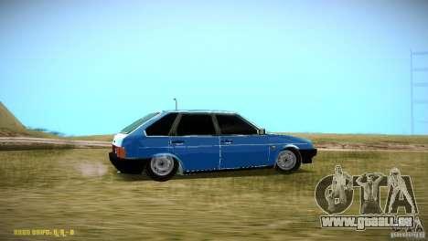 VAZ 2109 für GTA San Andreas rechten Ansicht