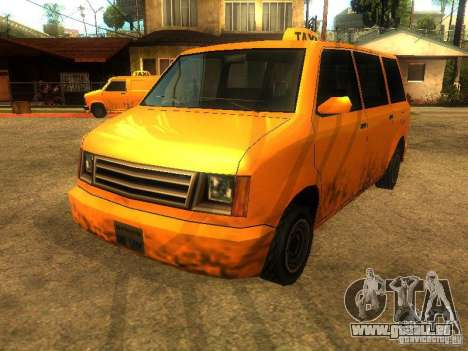 Taxi Moonbeam für GTA San Andreas linke Ansicht