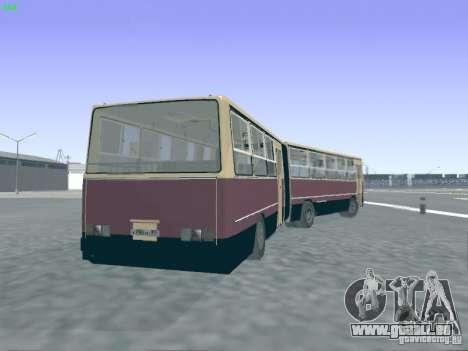 Remorque pour Ikarus 280.03 pour GTA San Andreas vue intérieure