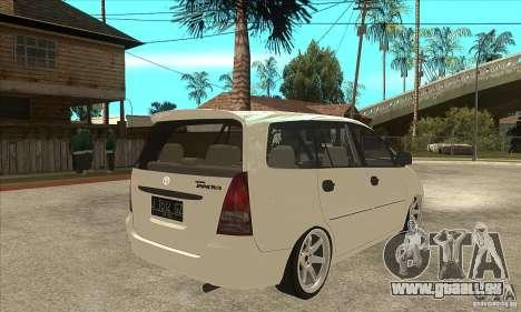 Toyota Innova Lowrider Rims 2 für GTA San Andreas rechten Ansicht