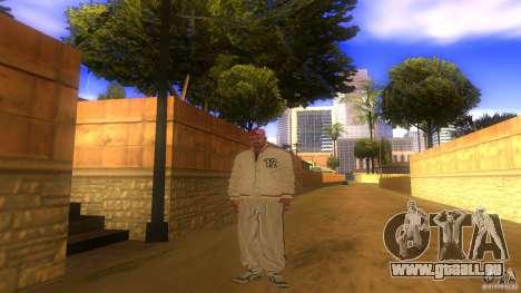 BrakeDance mod pour GTA San Andreas deuxième écran