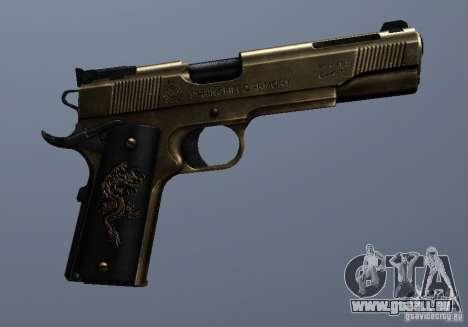 Golden 1911 für GTA San Andreas her Screenshot