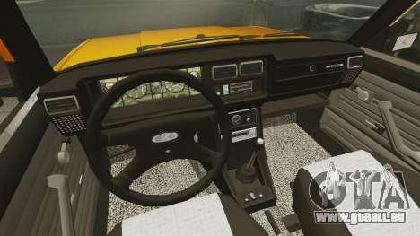 VAZ-2107 pour GTA 4 est un droit