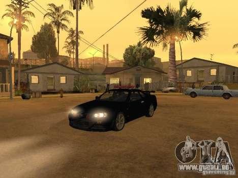 Nissan Skyline R34 Police pour GTA San Andreas
