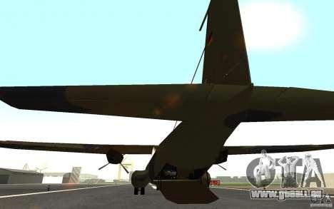 C-160 pour GTA San Andreas vue de droite