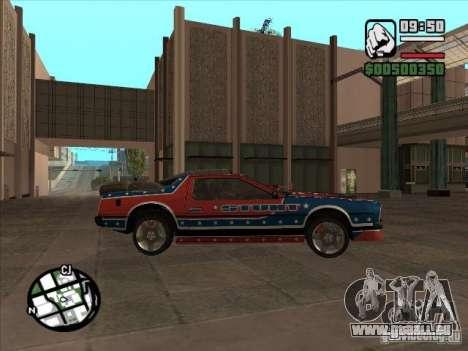 Autos von Flatout 2 für GTA San Andreas rechten Ansicht