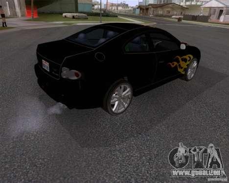 Vauxhall Monaco VX-R pour GTA San Andreas vue de droite