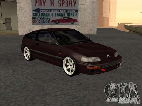 Honda Civic CRX JDM pour GTA San Andreas vue de droite
