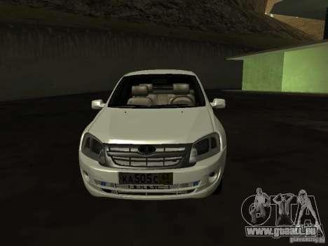 Lada 2190 Granta für GTA San Andreas linke Ansicht