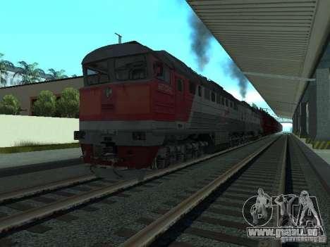 2te116 RZD für GTA San Andreas