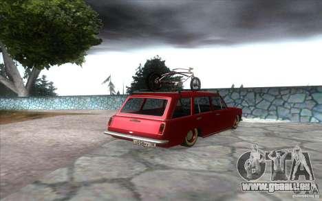 VAZ 2102 retro für GTA San Andreas zurück linke Ansicht