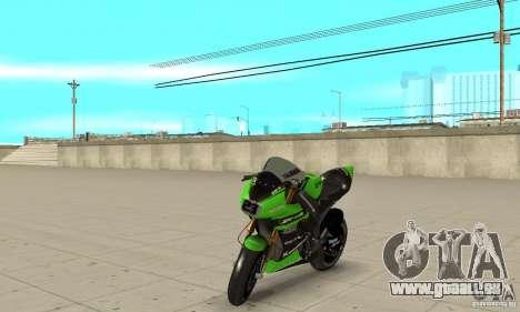 Kawasaki ZX-10R pour GTA San Andreas