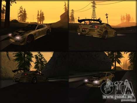 Nissan Silvia S15: Kei Office D1GP für GTA San Andreas rechten Ansicht