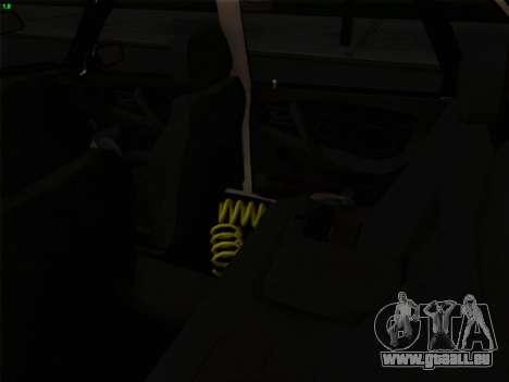 VAZ 21099 Drain pour GTA San Andreas vue intérieure
