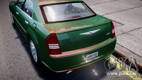 Chrysler 300C SRT8 Tuning pour le moteur de GTA 4