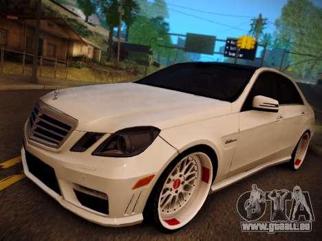 Mercedes-Benz E63 AMG 2010 pour GTA San Andreas