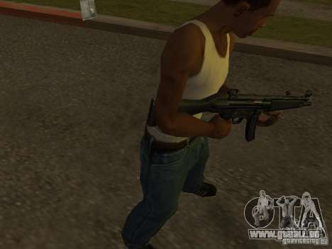 MP5A2 für GTA San Andreas
