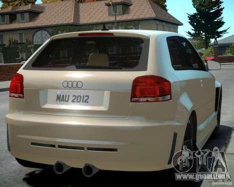 Audi S3 v2.0 pour GTA 4 est un droit
