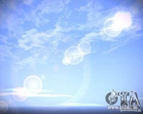 Real Clouds HD pour GTA San Andreas deuxième écran