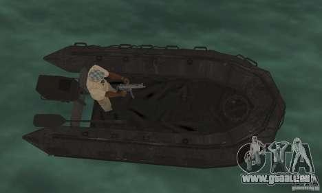 Boot von Cod Mw 2 für GTA San Andreas zurück linke Ansicht