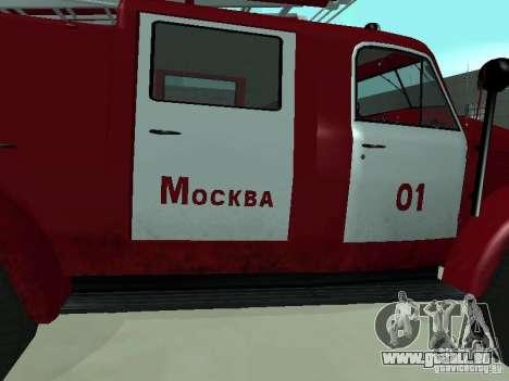 GAZ 51 20 ADC pour GTA San Andreas vue arrière