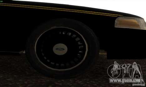 Ford Crown Victoria Alaska Police für GTA San Andreas rechten Ansicht