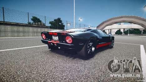 Ford GT1000 2006 Hennessey [EPM] STREET BURNING für GTA 4 Seitenansicht