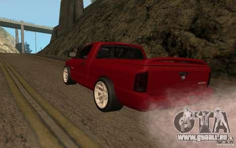 Dodge Ram SRT-10 für GTA San Andreas linke Ansicht