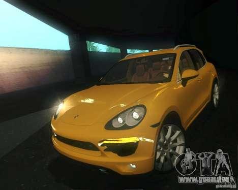 Porsche Cayenne 958 2010 V1.0 pour GTA San Andreas vue de côté
