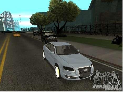 Audi A6 für GTA San Andreas Seitenansicht