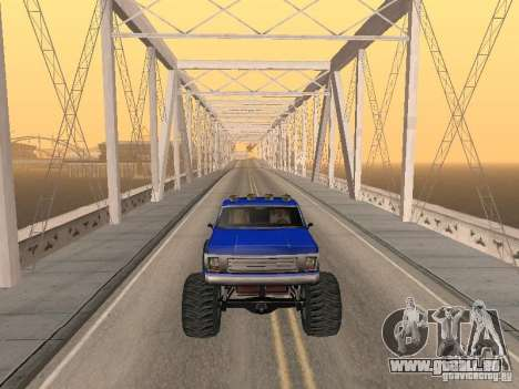 Off-Road Route v2. 0 für GTA San Andreas sechsten Screenshot