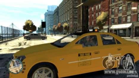 Cadillac CTS-V Taxi pour GTA 4 est une gauche