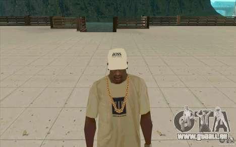 Boss Cap weiss für GTA San Andreas