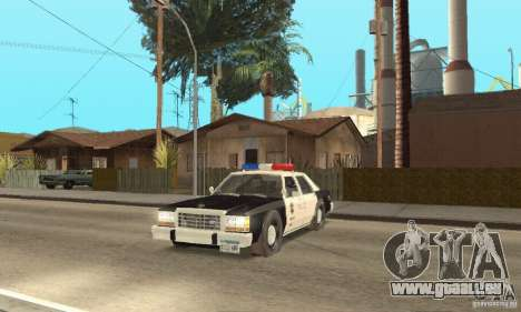 Ford LTD Crown Victoria Interceptor LAPD 1985 pour GTA San Andreas