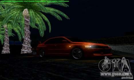 Mitsubishi Lancer Evolution IX 2006 für GTA San Andreas Seitenansicht