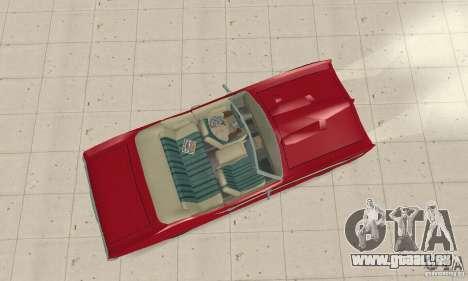 Pontiac GTO The Judge Cabriolet pour GTA San Andreas vue de droite