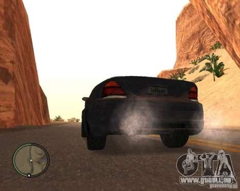 Feltzer de GTA 4 pour GTA San Andreas laissé vue