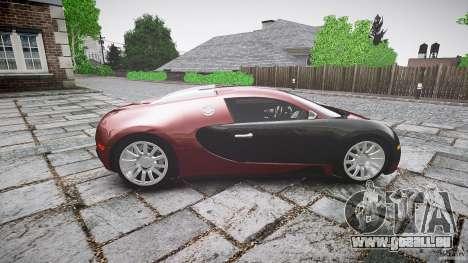 Bugatti Veyron 16.4 v3.0 2005 [EPM] Machiavelli pour GTA 4 est une vue de l'intérieur