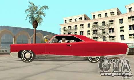 Pontiac Bonneville 1966 pour GTA San Andreas vue de droite