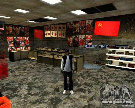 Stocke la restructuration pour GTA San Andreas septième écran